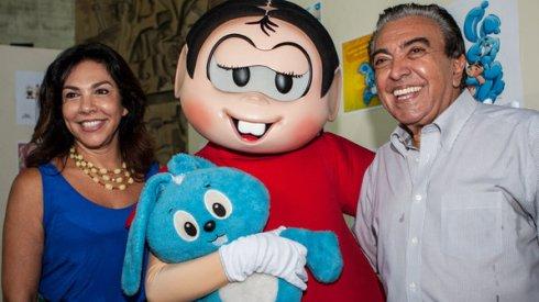 Mônica verdadeira, a personagem e Mauricio de Sousa